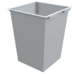 Контейнер за твърди отпадъци 1.1 м3