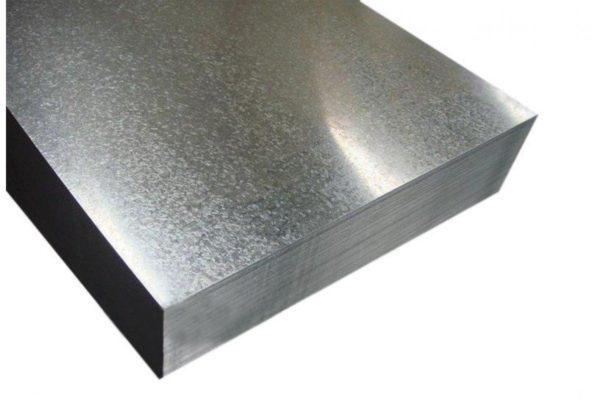 Лист оцинкованный 0,8x1250x2500 мм