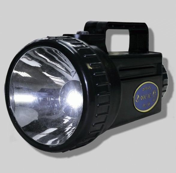 Фонарь осветительный аккумуляторный ФОС