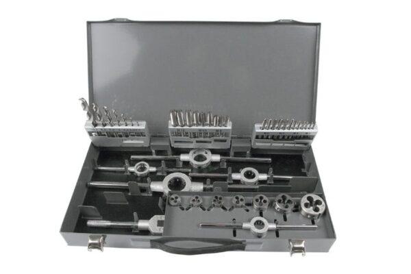 metchiki4 600x400 - Набор метчиков и плашек GARWIN GM-TCS44 М3 - 12, HSS, DIN352, 44 предмета