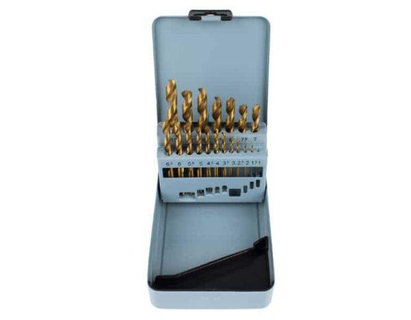 Набор сверл по металлу JSD Tools 100602-НС21И от 1 до 10 шаг 0,5 мм