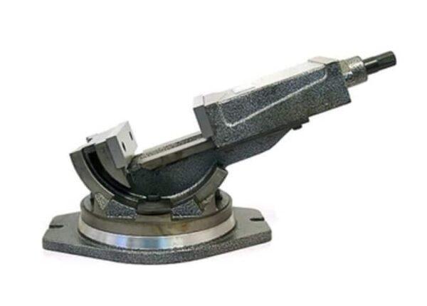 Тиски станочные поворотные Металлист 7200-3210 125 мм А=125