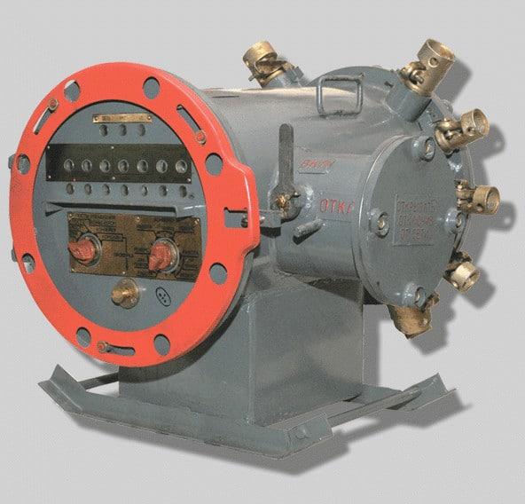 Взрывозащищенный аппарат управления забойными машинами АУЗМ
